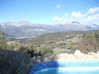 House with pool and mountain views - Algatocin vacation rentals