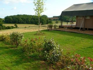 Nice Tented camp with Internet Access and Balcony - Juillac vacation rentals