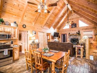 Stunning Luxury Log Home 4 BR/4Bath w/ Game Room - Branson vacation rentals