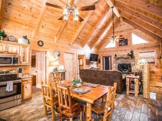 Stunning Luxury Log Home 4 BR/4Bath w/ Game Room Near Legends of Golf Tournament - Branson vacation rentals