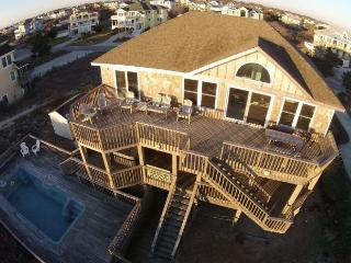 Oceanfront! Huge House, pool, hot tub, pets, WH32 - Corolla vacation rentals
