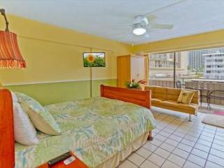 Condo by the Beach with Ocean View from Lanai - Honolulu vacation rentals