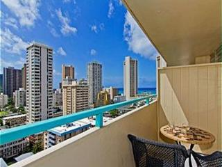 Ocean View Penthouse Studio by the Beach w/ Lanai - Honolulu vacation rentals