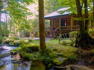 "The secluded, luxury ""WATERFALL CABIN"" - Brevard vacation rentals"
