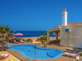 Villa Clio with stunning sea and sunset views - Stavros vacation rentals