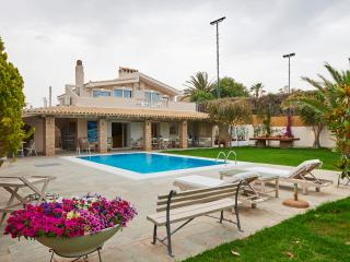 4-Bdrm Deluxe Villa with Pool on the Beach-Athens - Kalyvia Thorikou vacation rentals
