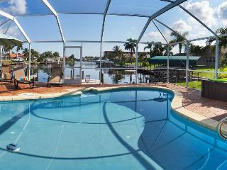 Manatees at the Dock! Amazing Views! - Cape Coral vacation rentals