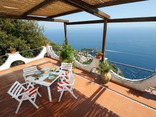 Brezza di Mare with large terace and sea view - Conca dei Marini vacation rentals