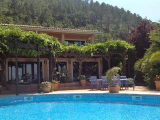 Designer luxury villa, all en-suite, private pool, fabulous views, grand piano - Gois vacation rentals