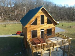 Brand New River Front log cabin - Luray vacation rentals
