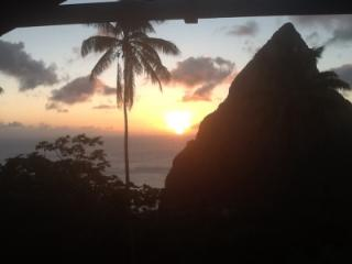 Hermitage Terrace: Piton and Ocean views - Belle Plaine vacation rentals