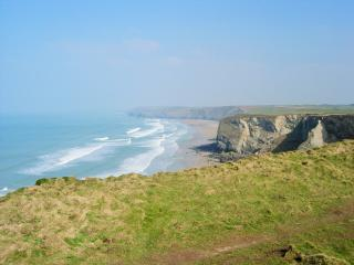 Beautiful Caravan/mobile home with Internet Access and Swing Set - Newquay vacation rentals