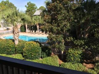 Poolside Serenity - Steps to the ocean, free bikes - Seagrove Beach vacation rentals