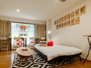 HUGE 4BDR 3BH 14ppl One Piece House - Osaka vacation rentals