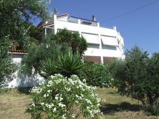 Country Villa overlooking the Ionian Sea-Sleeps 11 - Zakharo vacation rentals