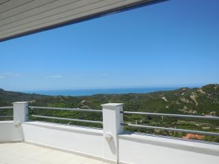 Hillside Loft apartment with fantastic views overlooking the Ionian Sea - Pirgos vacation rentals
