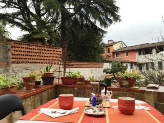 La terrazza di Pat, inside walls. - Lucca vacation rentals