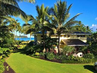 7000 Sq. Ft. Beach Front Estate On Hanalei Bay - Hanalei vacation rentals