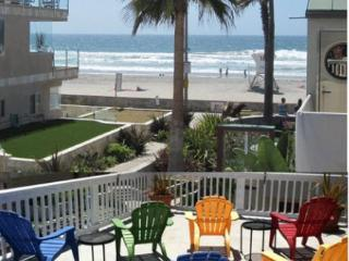 25% Discounted! Mission Beach, Ocean View! Location,1 House From Ocean,Sleeps 16 - Pacific Beach vacation rentals