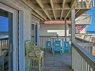 Sunny 2BR Kure Beach Condo w/ Ocean Views, Indoor & Outdoor Pools, and Elevator - The Beach is Your Backyard! - Kure Beach vacation rentals