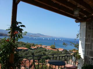 8 bedroom mansion in the hart of Molivois village - Molyvos vacation rentals