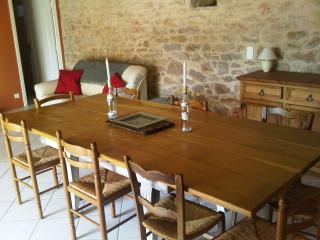 Traditional stone farmhouse with heated pool - Reilhaguet vacation rentals