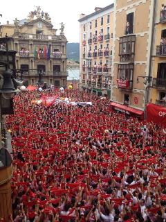 Running with the bulls Balcony - Pamplona vacation rentals
