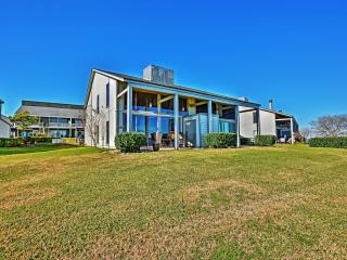 Breathtaking Lakefront 2BR + Loft Montgomery Condo in April Sound Community w/Wifi, Private Back Porch & Gorgeous Open Water Views - Steps Away from Fishing, Gym, Country Club, Fine Dining & More! - Montgomery vacation rentals