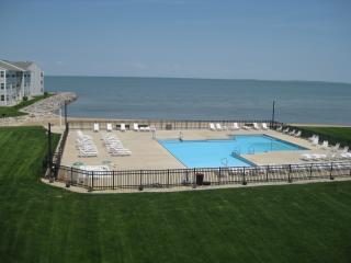 WOW!  Stunning Views- Beachfront Condo-Walk to restaurants, bars, activites! - Port Clinton vacation rentals