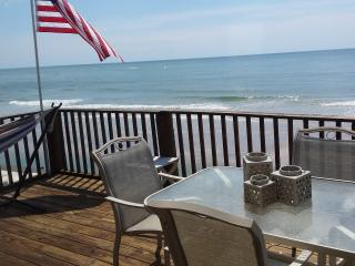 Warm Ocean and Perfect Fall Temps at Oceanfront - North Topsail Beach vacation rentals
