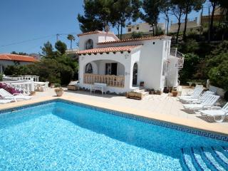 Paraiso Terrenal 4 - well-furnished villa with panoramic views by Benissa coast - Moraira vacation rentals