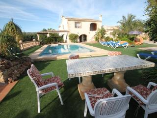 Sant Miquel - rustic and traditional spanish stone house in Costa Blanca - Moraira vacation rentals