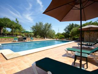 Rural villa for nine people located on an idyllic setting with spectacular views of the Serra de Tramuntana mountains - HM010PDG - Bunyola vacation rentals