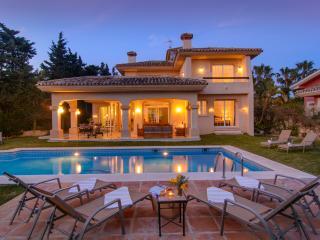 Las Chapas south oriented villa with pool,  BBQ - Marbella vacation rentals