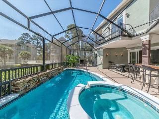 Swingle Manor 7, 5 Bedrooms, Private Pool, Spa, Walk to Beach, Sleeps 16 - Hilton Head vacation rentals
