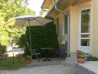 "Waterfront Panorama Apartment for 2 ""A"" - Balatonboglár vacation rentals"