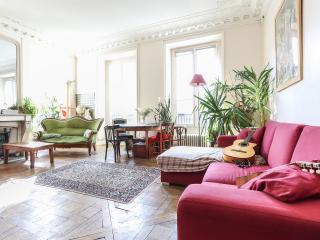 Appartement Haussman 120 m Centre Paris. - Paris vacation rentals