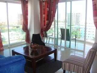Bright central ocean view highrise apartment - Santo Domingo vacation rentals