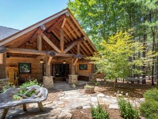 Rustic Blue Ridge Mountain Lake James Cabin - Morganton vacation rentals