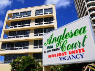 Unit 17 ANGLESEA COURT absolute beach front - Surfers Paradise vacation rentals