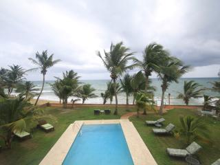 Ocean front villa, 2nd floor, infinity pool - Yabucoa vacation rentals