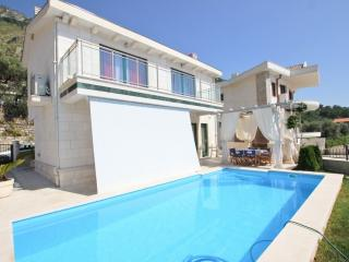 Elegant house with pool, terrace with sea view - Rezevici vacation rentals