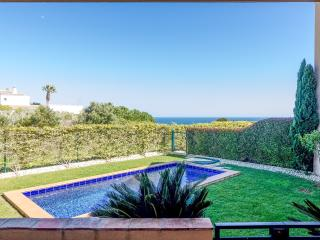 Two bedroom apartment with private garden and pool - Luz vacation rentals