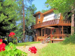 Private 12 Bed Lakefront Lodge with Beach - Ely vacation rentals