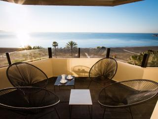 2 bed & 2 bath terrace & sea view & centre Malaga - Malaga vacation rentals
