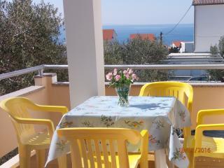 Spacious 5 person apartment with balcony - Novalja vacation rentals