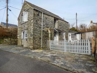 BARN COTTAGE sea views, character cottage, pet-friendly, enclosed garden, Tintagel Ref 930674 - Tintagel vacation rentals