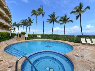 Paki Maui 415 Oceanfront Pool and Hot Tub Sunsets! - Napili-Honokowai vacation rentals