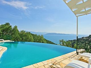 Villa Regina with Stunning Sea Views above Agni - Kalami vacation rentals