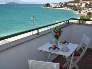 Seaview balcony apt 20m from beach - Arbanija vacation rentals